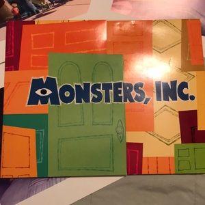 Disney Monsters, Inc. Lithograph Set